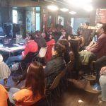 Podcast en directo en JPOD15 en Zaragoza
