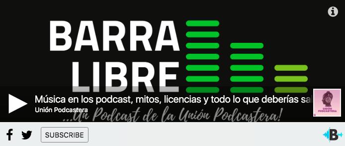 Música en los podcast