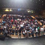 Gala de premios en JPOD16 en Málaga
