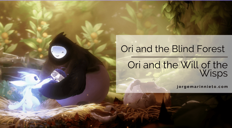 Ori and the Blind Forest & Ori and the Will of the Wisps jorgemarinnieto